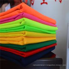 Cheap Wholesale 90% polyester 10% coton Tissu teinté teint