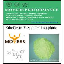 Venta caliente Vitamina Riboflavina 5'-Sodio Fosfato