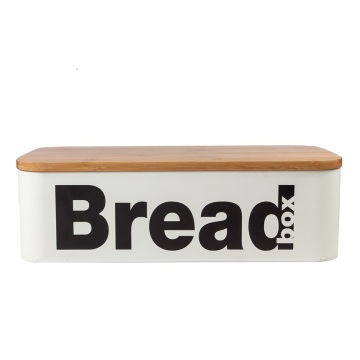Almacenamiento de alimentos Caja de pan de hojalata