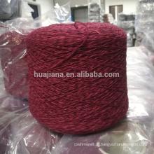 Feito na China mão tricô fio de caxemira