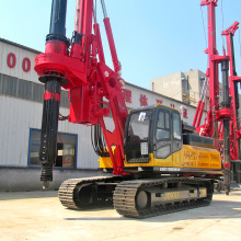 Hydraulic Excavator Ground Hole Drilling Rig Machine