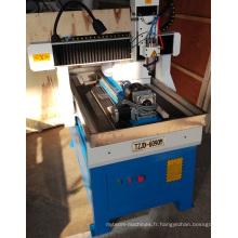 Machine de gravure en bois de commande numérique par ordinateur de la commande numérique par ordinateur de routeur de la commande numérique par ordinateur 6090