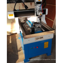 Máquina de gravura de madeira do CNC do MDF da propaganda do router do CNC 6090