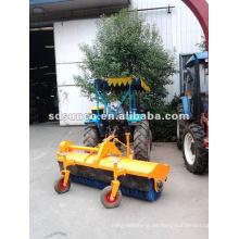 Traktormontierte Straßenkehrmaschine