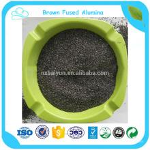 Poudre abrasive d'alumine de Brown de maille de la catégorie 80 abrasive