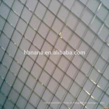 2 * 2 galvanizou a rede de arame soldada / rede de arame soldada galvanizada brilhante