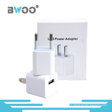 ABS EU US Plugs Single USB Travel Charger