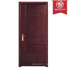 Custom Combined MDF Paper Honeycomb Wood Doors pour l'hôtel / école / maison / bureau Buliding