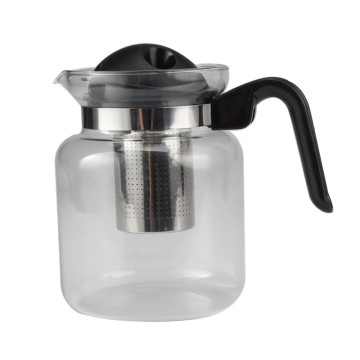 Removable Filter of Glass Tea Pot