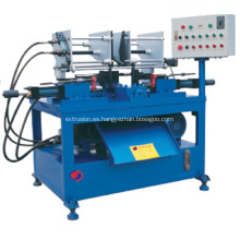 Máquina de encogimiento automático de tubos de doble cabezal