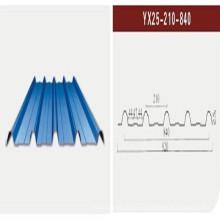 Color Hoja de acero / Chapa de acero corrugado / Hoja de techo (XGZ-21)