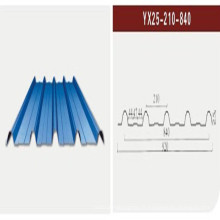 Feuille d'acier en tôle / Feuille en tôle d'acier ondulé (XGZ-21)