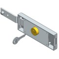 Single Left Deadbolt Roller Shutter Lock