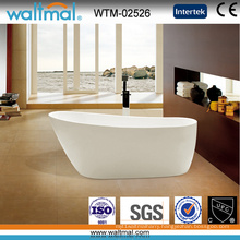 Luxury Unique Shoe Shape Seamless Freestanding Bathtub