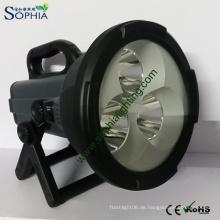 Wiederaufladbare 30W explosionsgeschützte Handlampen CREE LED Taschenlampe
