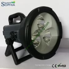 Lampes à main anti-déflagrantes rechargeables de 30W CREE LED Flashlight
