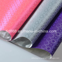 Hoja reflectante de PVC plástico para bolsas