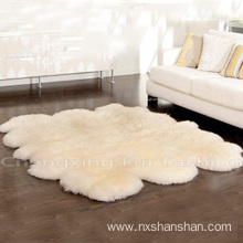 Bottom price for Sheep Wool Blanket Genuine Soft Long Hair Mongolian Sheep Carpets export to Togo Manufacturers