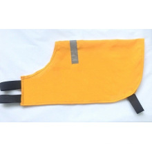 Yellow Dog Vest with Reflective Tape
