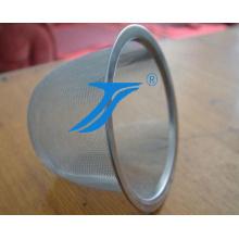 Malha de arame de tela de filtro de tipo de tubo