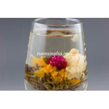 Ru Hua Si Yu (Hochzeitskorb grüner blühender Tee)