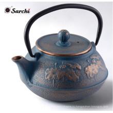 Мини-антикварный чайный набор чугунного чайника