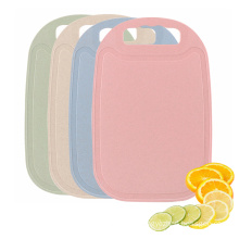 Eco Friendly No Slip Degradable Fruit Vegetable Chopping Board Kitchen Wheat Straw Cutting Board