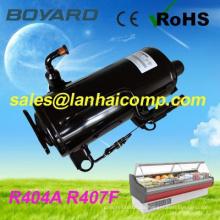 Compresor del refrigerador mini R407F R404A CE ROHS reemplazar sc10cc para refrigeradores de gas comercial de refrigeración de carro