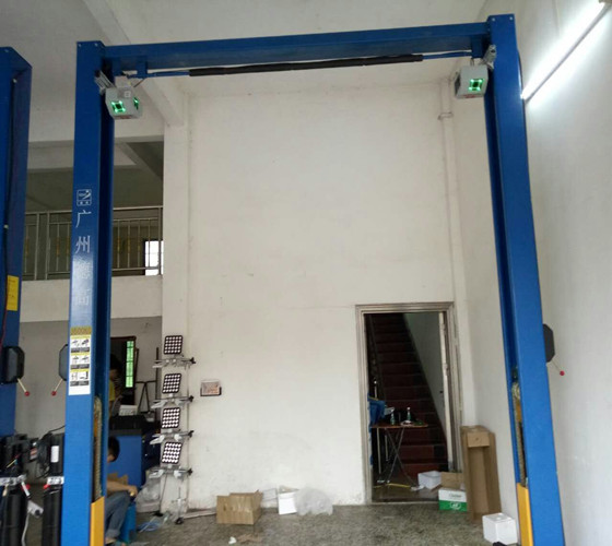 2-post Lift Wheel Alignment System