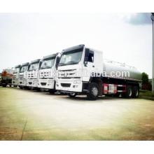 20CBM 6 * 4 HOWO camion de carburant / réservoir de carburant camion / camion de pétrole / huile réservoir camion / acide liquide réservoir camion / réservoir remorque / camion chimique