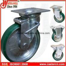 Японский литейщик с полиуретановым колесом от 75 до 200 мм