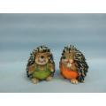 Hedgehog Shape Ceramic Crafts (LOE2537-C7.5)