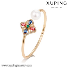 51747 Xuping jóias atacado moda mulher pulseiras com ouro 18k chapeado