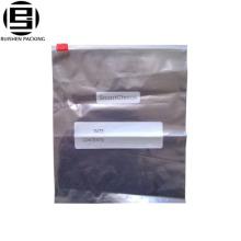 Transparent pe plastic zipper slider bag can be written
