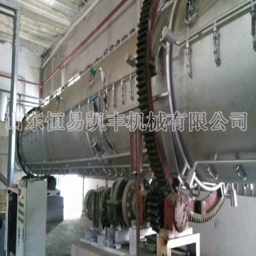 New design carbonization furnace