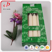 Holiday decoration giant pillar stick candles