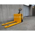 Caminhão de pálete elétrico do suporte do certificado do CE e do ISO com serviços pós-venda