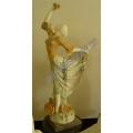Geschnitzte Marmor Statue Stein Carving Skulptur Figur für Garten Dekoration (SY-X1449)