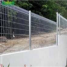 Welded High-quality BRC Rolled Top Wire Mesh Fence