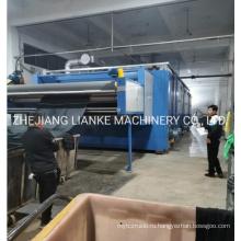 Сушильная машина для окрашивания тканей