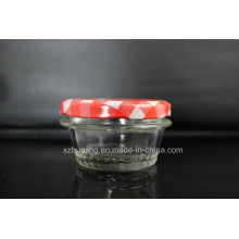 120ml 4oz Tapered Caviar Mason Glass Jar