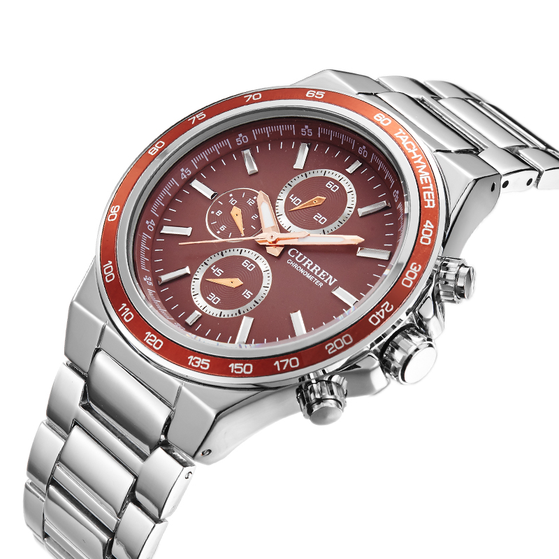 Luxury Brand Stainless Steel Band Men Watches Women
