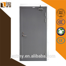 Pintura en polvo por mayor de encargo o calor transferencia de puerta, puerta acero, puerta de la prueba de fuego