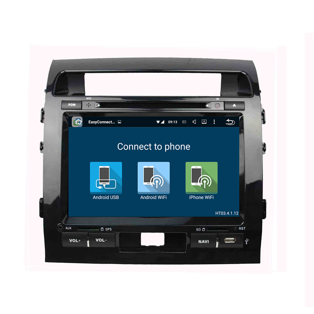TOYOTA 9 inch Android Car Multimedia Player Land Cruiser