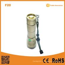 F20 Лучший мощный перезаряжаемый светодиодный фонарик факел Xm-L U2 светодиодный фонарик факел