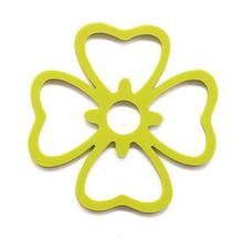 Blumen-Silikon-Topflappen für die Küche