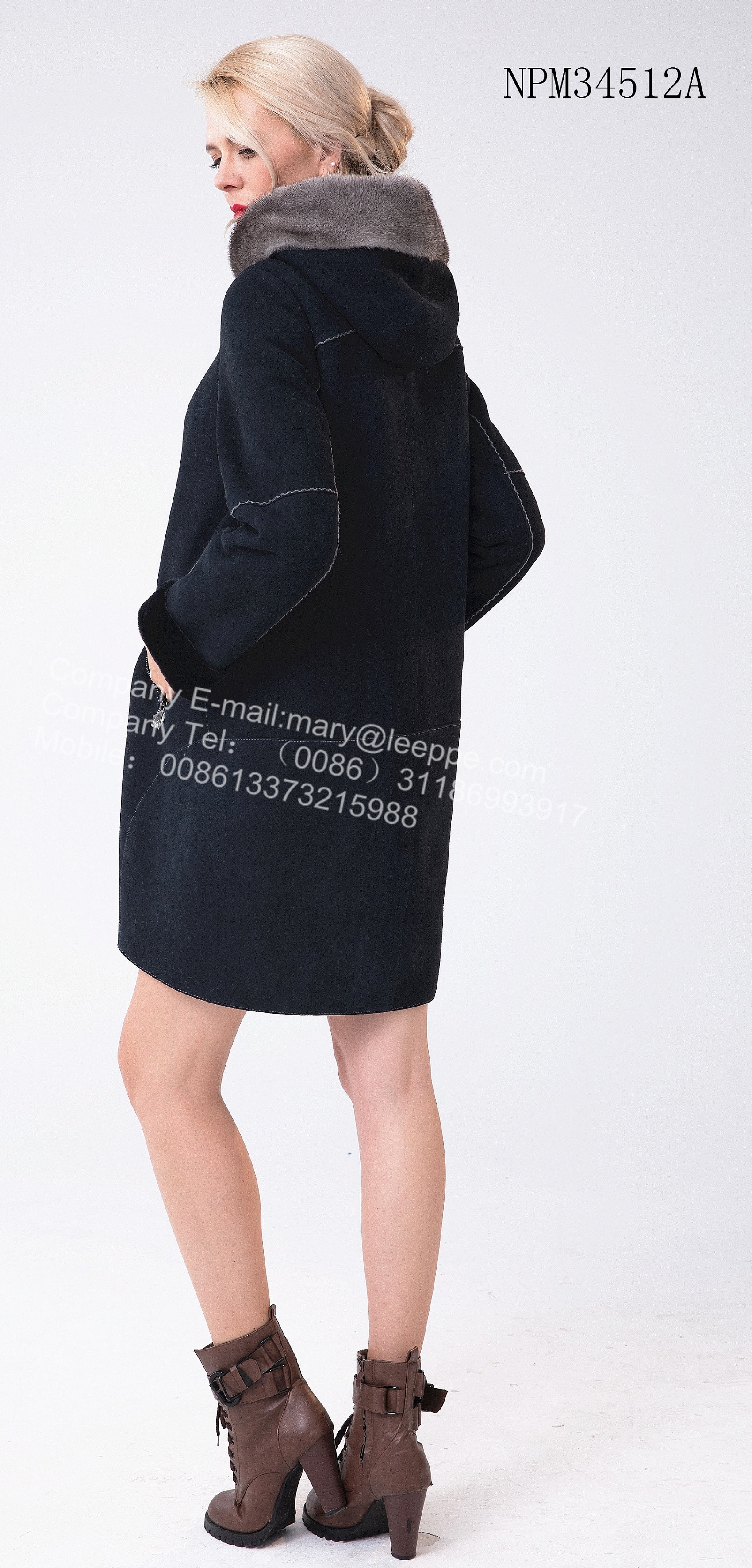 Medium Shorn Sheepskin Fur Jacket