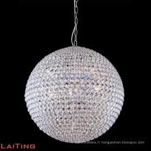Lustre moderne d'éclairage lustre en cristal pas cher salon lustre