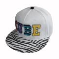 Custom White Acrylic Snapback Cap