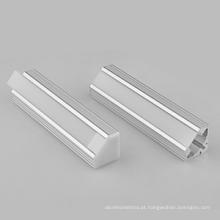 Perfil de alumínio LED personalizado